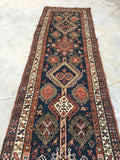 3'4 x 10'9 Antique Kurdish Runner / Kurdistan rug (#937ML)