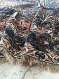 5'7 x 7' Antique Shiraz Tribal Rug (#1376)