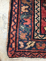2'8' x 6'7 Antique Persian Lilihan Runner (#1049)