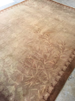 8' x 9'10 Antique Chinese Rug / 8x10 vintage rug