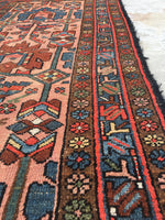 "3'4"" x 6'3"" antique Persian Malayer (#447)"