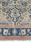 9'4 x 10'8 antique Persian Tabriz #972T (saved for Lindsey)