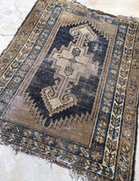 3'6 x 5' Kurdish Antique Rug