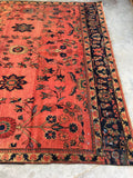 7'3 x 12'1 Antique Mahal Rug