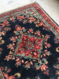2'1 x 2'8 antique Sarouk Mat Rug (#1367)