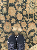 8'6 x 11' antique Persian Tabriz Rug / Large Vintage Rug (#1046A)