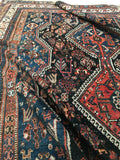 7x10 Antique Shiraz Tribal Rug (#1279)