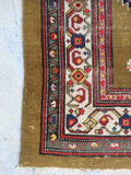 3'2 x 11'1 Antique Persian Camel Hair runner (#1366) / vintage rug runner