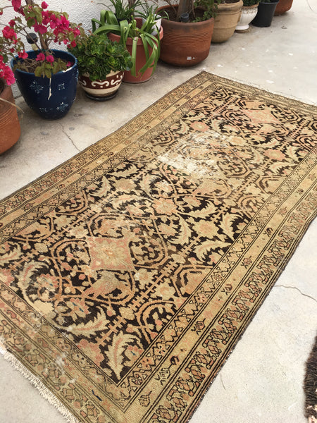 3'9 x 7'1 Antique Malayer