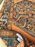 2'7 x 4'2 antique Kurdish rug