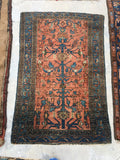 2'5 x 3'8 Bibikabad Rug / Small Antique Rug