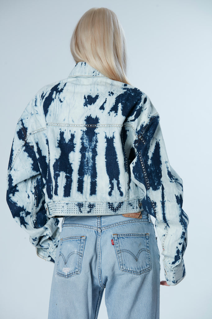 Bella Cropped Denim Jacket