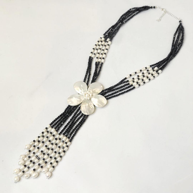 Black & White Elegance Necklace