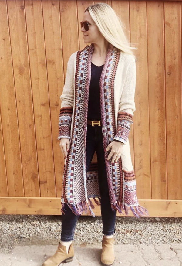 Joshua Tree Fringe Sweater
