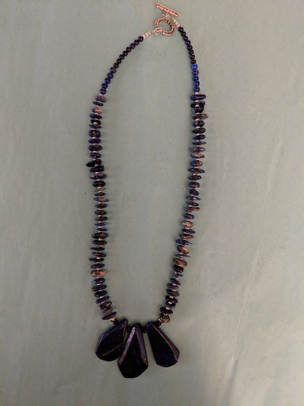 L Shearer Lapis Necklace