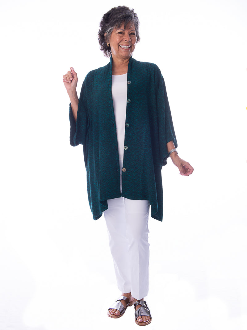 Drape Button Jacket