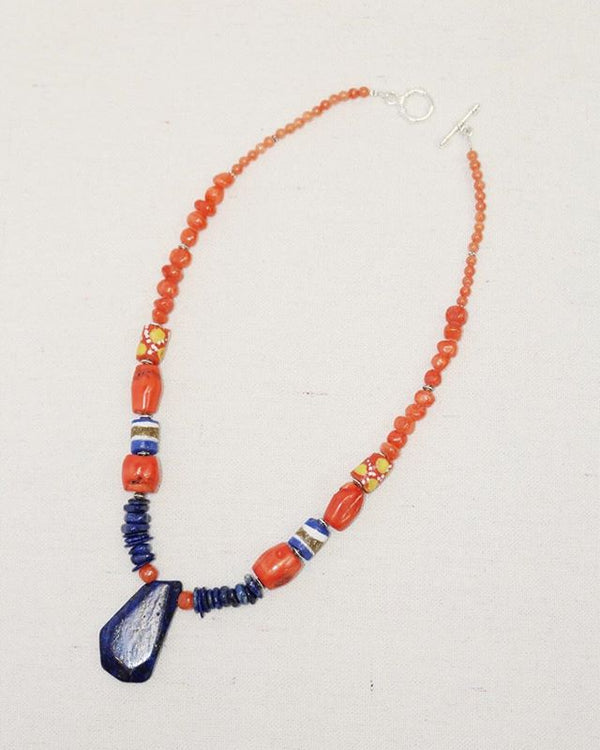 Ocean Coral Reef Necklace