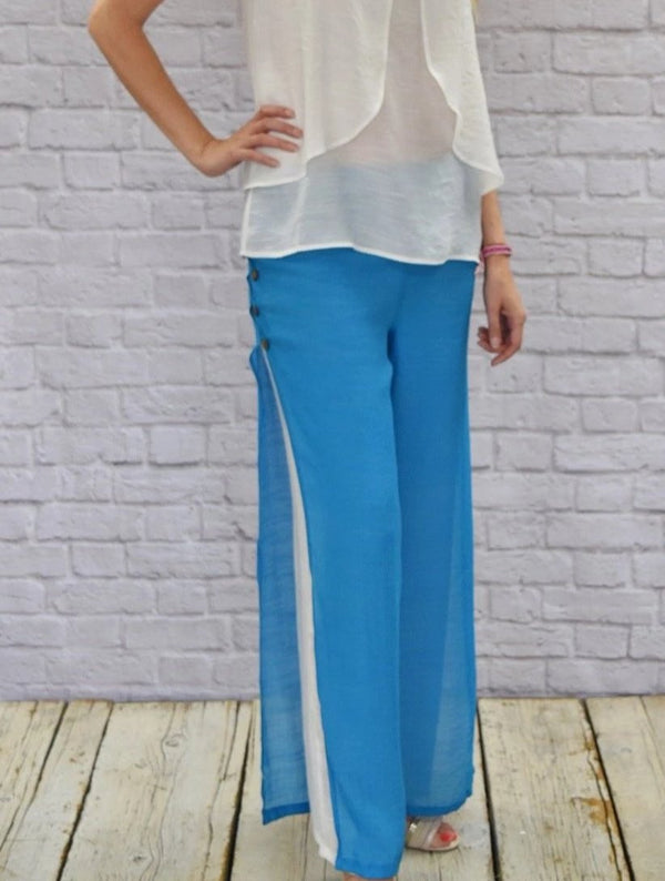 Sanibel Pants (Aqua)