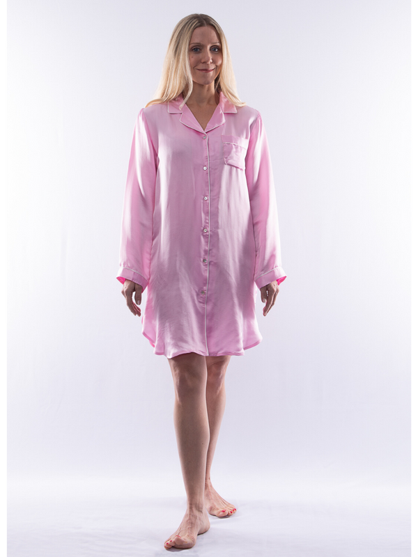 Silk Sleeping Shirt
