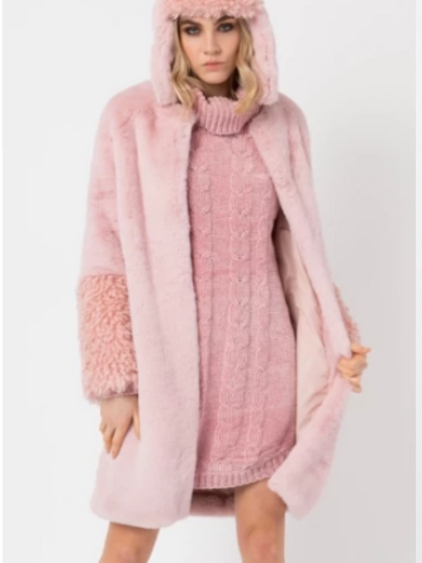 Grace Coat Blush