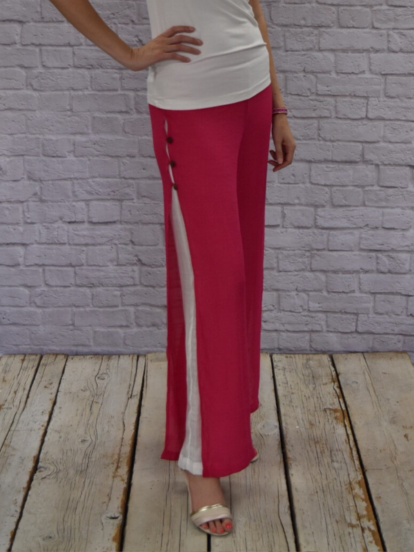 Sanibel Pants (Fuschia)