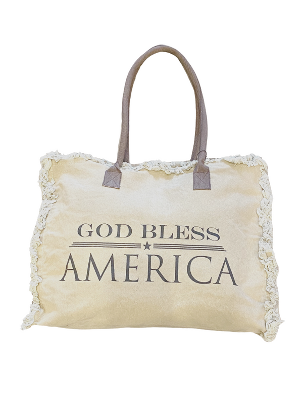 God Bless America Market Tote
