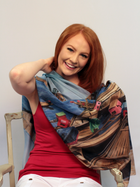 Art Scarf By Mary Maio