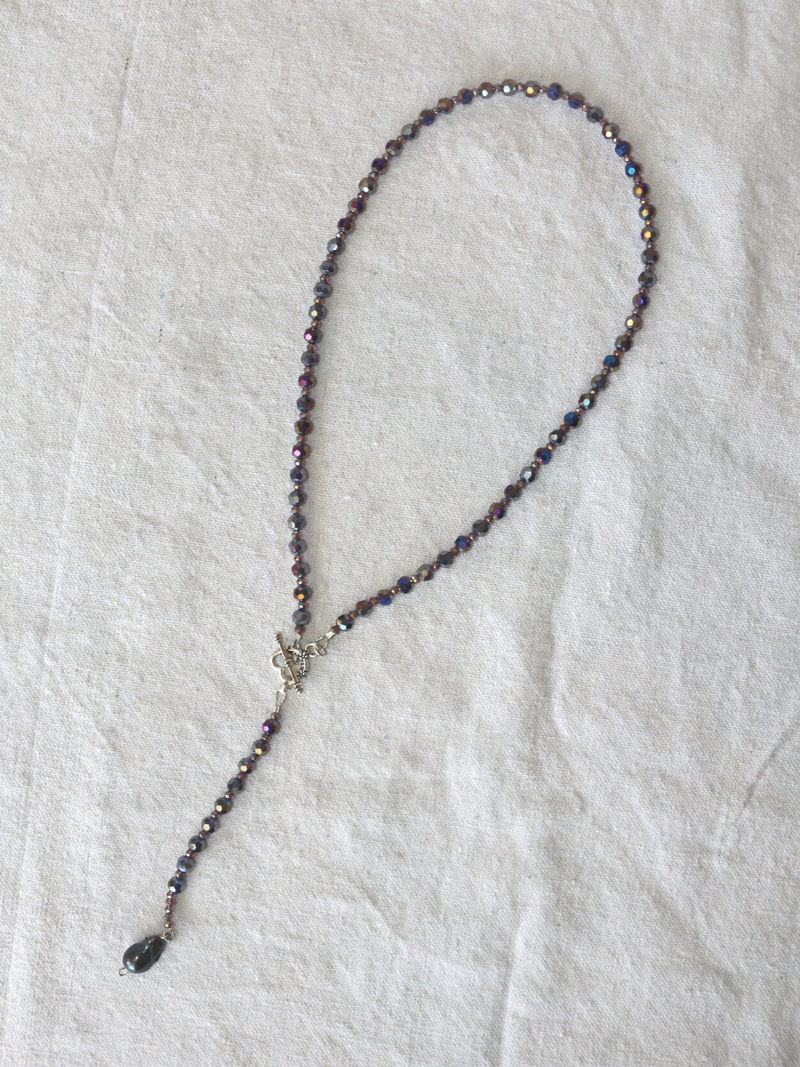 LS Designs Purple Haze Necklace