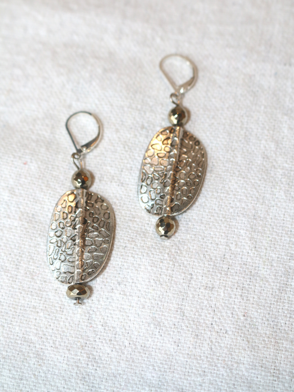 LS Designs Falling Leaves Earrings