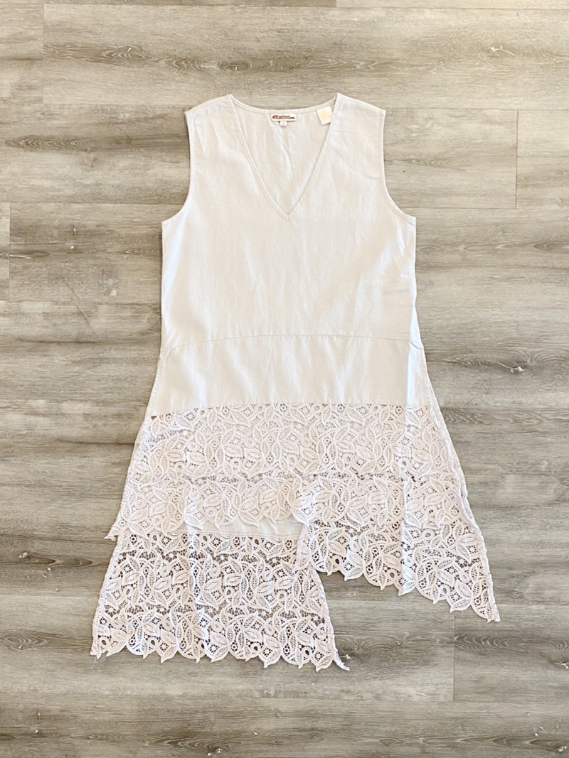 Lindy Lace Tunic Dress