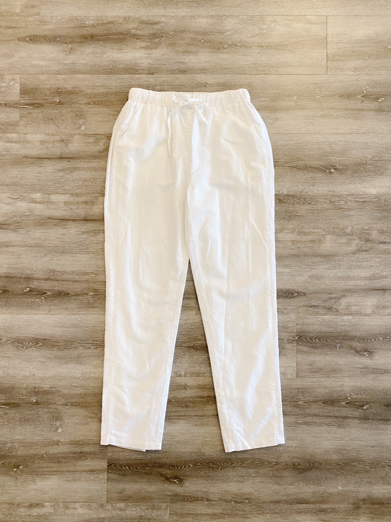Linen and Lace Summer Pant