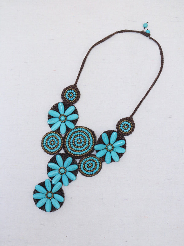 Field of Turquoise Necklace