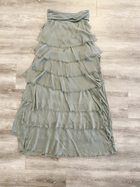 Silk Ruffle Skirt