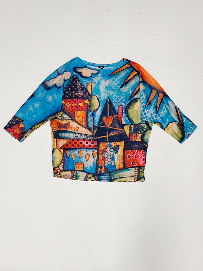 Whimsical Village Top