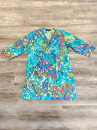 Peacock Beaded Tunic Dress