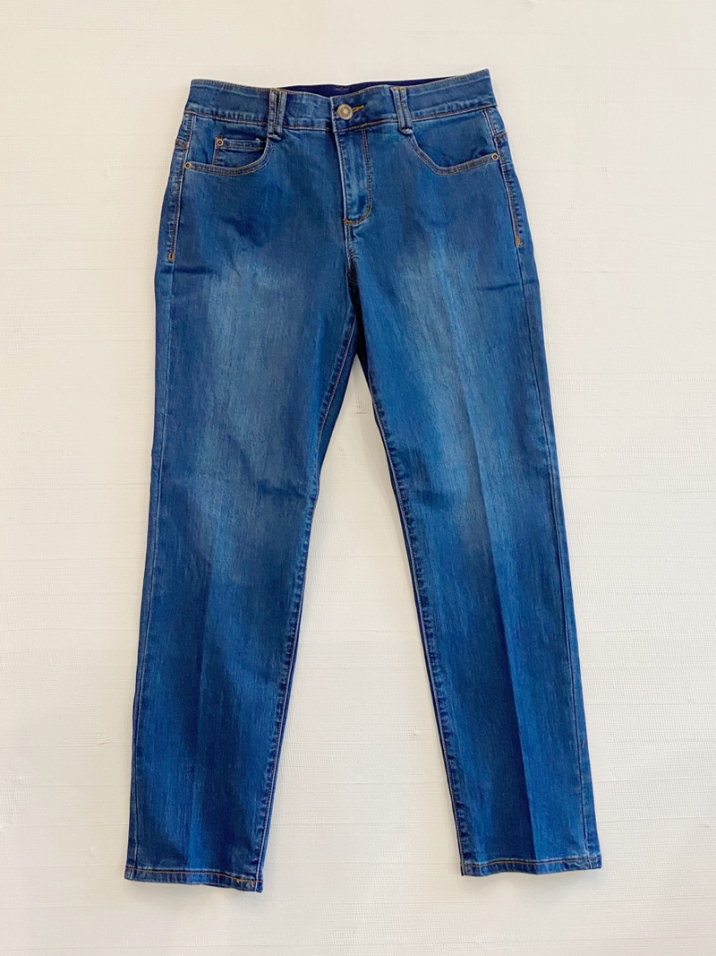 Comfort Fit Jeans Denim