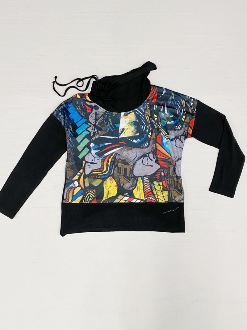 Modern Art Fancy Sweatshirt