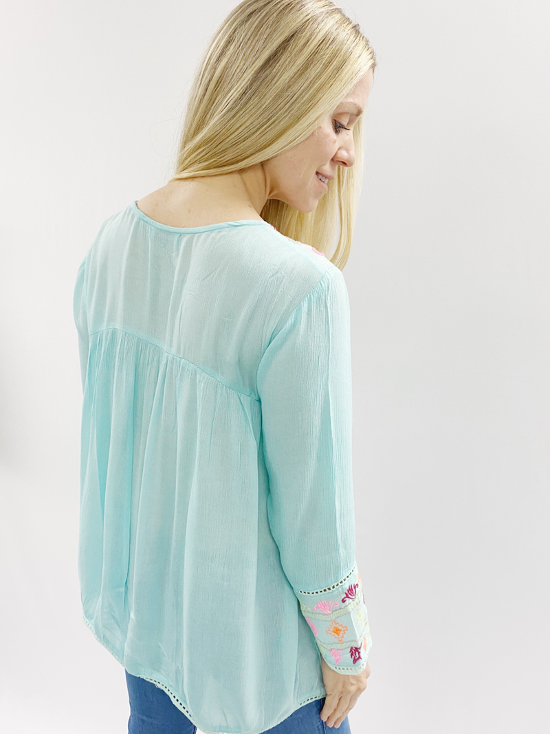 Calista Embroidered Tunic