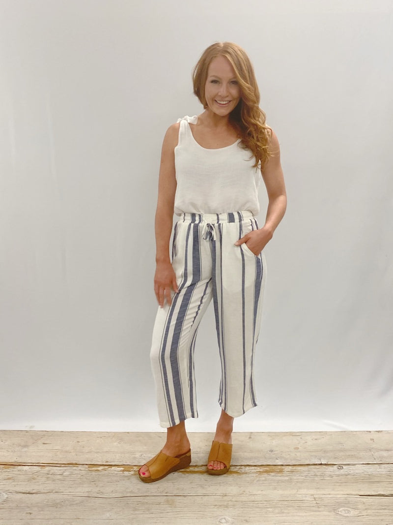 Papparzi Stripe Crop