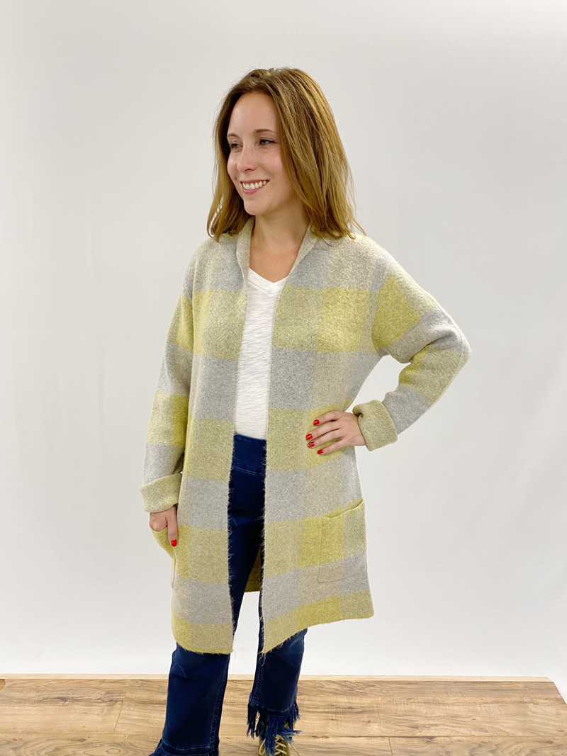 Holly Heather Gray Sweater