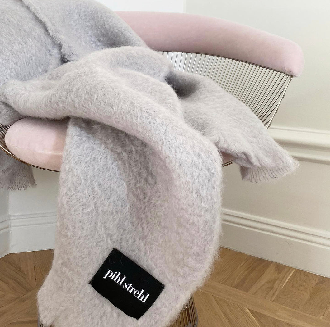 Light Grey - Light Weight Mohair
