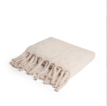 Mohair Throw Perfect Beige
