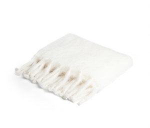 Mohair Throw Creme