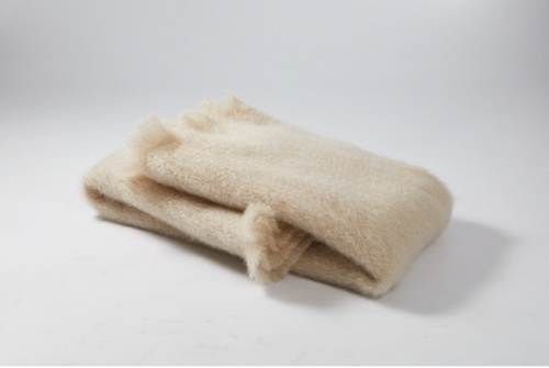 Beige - Light Weight Mohair