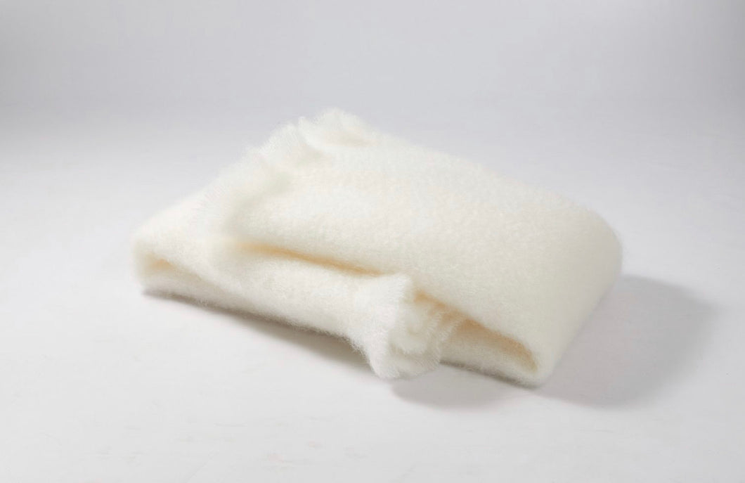 Snow White - Light Weight Mohair