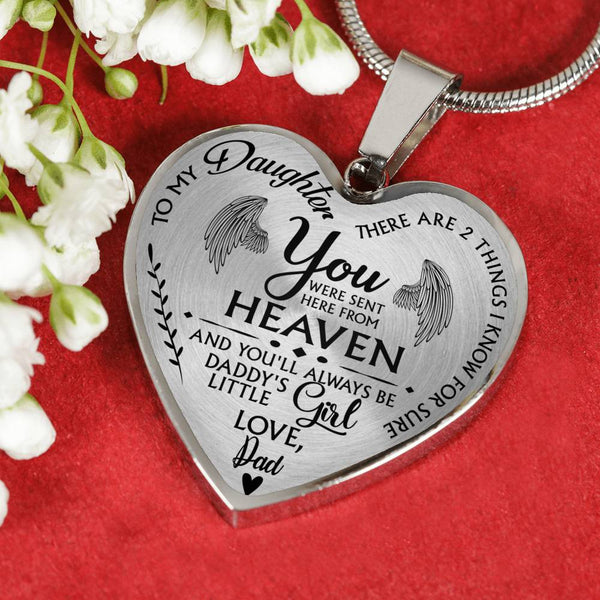 Heaven Sent Daughter Necklace