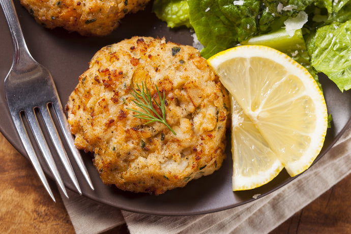 2 Maryland Crab Cakes