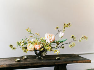 Editorial Style Centrepiece for Tablescape