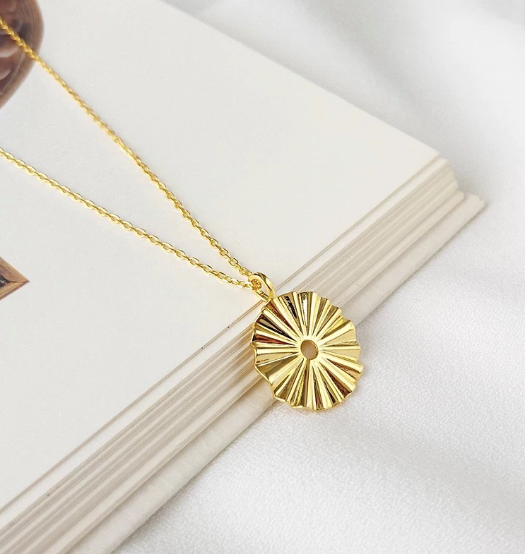 Sun-Burst Necklace | Samara