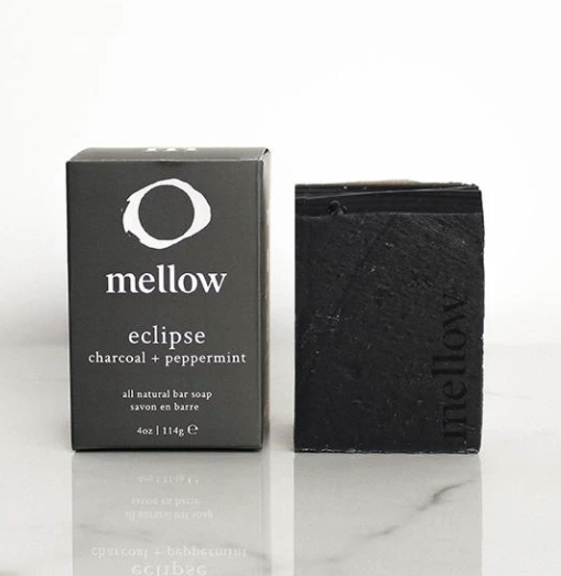 Charcoal + Peppermint Bar Soap | Eclipse
